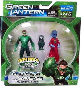 Green Lantern Movie Exclusive Guardians of the Universe Action Figure 2-Pack Hal Jordan & Baris [Set 1 of 6]