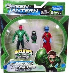 Green Lantern Movie Exclusive Guardians of the Universe Action Figure 2-Pack Sinestro & Sayo [Set 2 of 6]