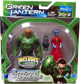 Green Lantern Movie Exclusive Guardians of the Universe Action Figure 2-Pack Kilowog & Ranakar [Set 3 of 6]