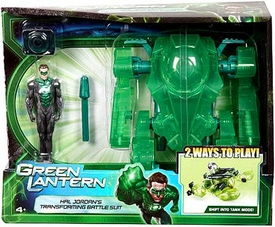 Green Lantern Movie Action Figure & Vehicle Playset Hal Jordans Transforming Battle Suit