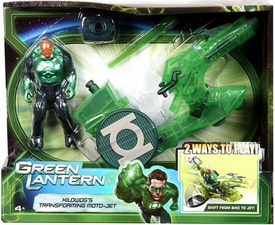 Green Lantern Movie Action Figure & Vehicle Playset Kilowog�s Transforming Moto-Jet