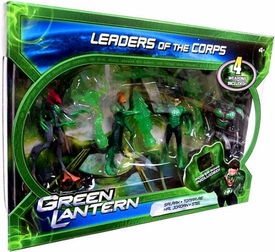 Green Lantern Movie 4 Inch Action Figure 4-Pack Leaders of the Corps [Salaak, Tomar-Re, Hal Jordan & Stel]