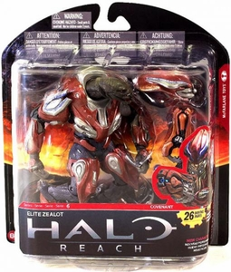 Halo Reach McFarlane Toys Series 6 Action Figure Elite Zealot