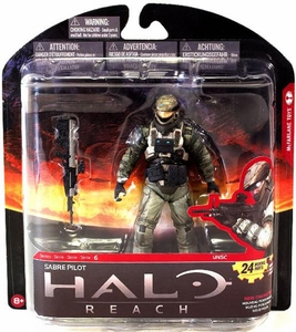 Halo Reach McFarlane Toys Series 6 Action Figure Sabre Pilot