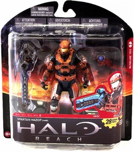 Halo Reach McFarlane Toys Series 6 Exclusive Action Figure RUST Spartan Hazop {Male}