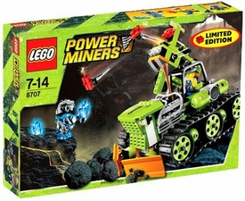LEGO Power Miners Exclusive Set #8707 Boulder Blaster