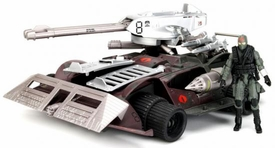GI Joe Pursuit of Cobra 3 3/4 Inch Bravo Vehicle Cobra Fury with Alley-Viper Officer Action Figure