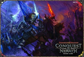 Dungeons & Dragons D&D Board Game Conquest Of Nerath
