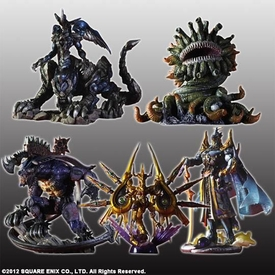 Final Fantasy Creatures Kai Volume 4 Set of 5 Figures [Exdeath, Omega Weapon, Marlboro, Bahamut Retsu & King Behemoth]