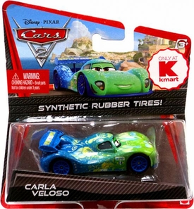 Disney / Pixar CARS 2 Movie Exclusive 1:55 Die Cast Car with Synthetic Rubber Tires Carla Veloso