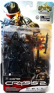 Crysis 2 Gamestars 4 Inch Action Figure C.E.L.L. [Assault Unit]
