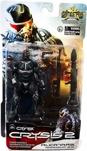 Crysis 2 Gamestars 4 Inch Action Figure Alcatraz [Nanosuit 2.0]
