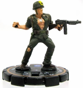 DC Heroclix Cosmic Justice Limited Edition Single Figure LE #207 General Frank Rock