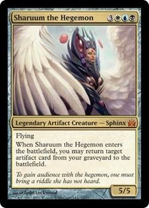 Magic: The Gathering From the Vault: Legends Single Card Gold Mythic Rare #11 Sharuum the Hegemon