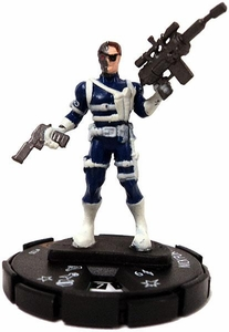 Marvel Heroclix Captain America #100 Nick Fury LMD