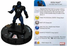Marvel Heroclix Single Figure #101 Iron Man