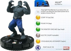 Marvel Heroclix Single Figure #102 Hulk