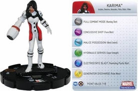 Marvel Heroclix Single Figure #105 Karima