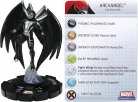 Marvel Heroclix Single Figure #104 Archangel