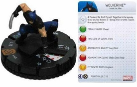 Marvel Heroclix Single Figure #103 Wolverine