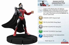 DC Heroclix Single Figure #102 Manhunter Grandmaster