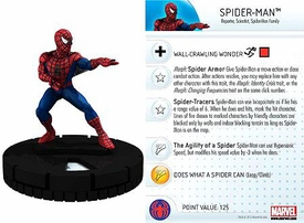 Marvel Heroclix Single Figure #024 Spider-Man