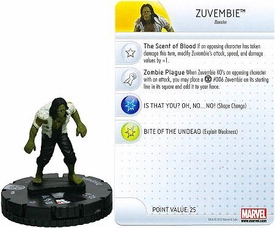 Marvel Heroclix Single Figure #006 Zuvembie