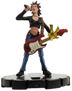 Marvel Heroclix Single Figure #062 Dazzler