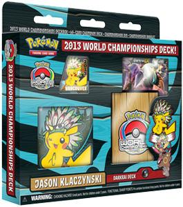 Pokemon 2013 World Championship Jason Klaczynski's Darkrai Deck