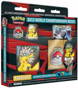 Pokemon 2013 World Championship Yugo Sato's Ultimate Team Plasma Deck