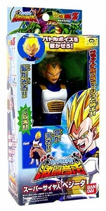 Dragon Ball Z Bandai Japanese Light & Sound Action Figure Super Saiyan Vegeta