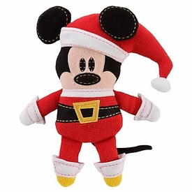 Disney Pook-a-Looz Plush Doll Santa Mickey Mouse