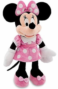 Disney Exclusive 17 Inch Deluxe Plush Figure Minnie Mouse [Pink Dress]