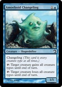Magic the Gathering Premium Deck Series: Slivers Single Card Common #3 Amoeboid Changeling