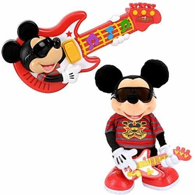 Disney Mickey Mouse Fisher-Price Rock Star Mickey with Guitar Gift Set
