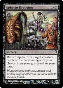 Magic the Gathering Premium Deck Series: Slivers Single Card Common #28 Aphetto Dredging