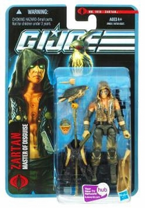 GI Joe Pursuit of Cobra 3 3/4 Inch Action Figure Zartan {Desert Battle} [Master of Disguise]