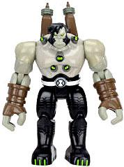 Ben 10 LOOSE 4 Inch Action Figure Benvicktor [Battle Version]