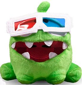 Cut The Rope 5 Inch Pose-N-Play Plush 3-D Glasses