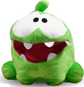 Cut The Rope 5 Inch Pose-N-Play Plush Smile