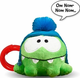 Cut The Rope 3 Inch Talking Plush Back Pack Clip Hat