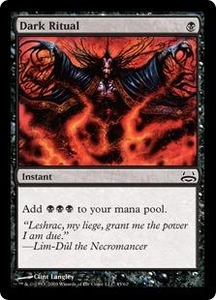 Magic the Gathering Duel Decks: Divine vs. Demonic Single Card Common #45 Dark Ritual