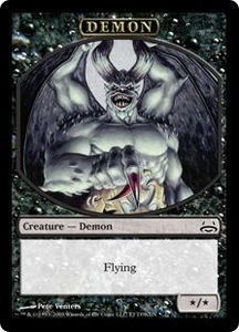 Magic the Gathering Duel Decks: Divine vs. Demonic Single Card Common #2 Demon