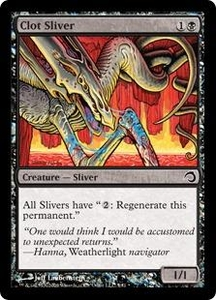 Magic the Gathering Premium Deck Series: Slivers Single Card Common #5 Clot Sliver