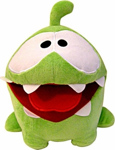 Cut The Rope 8 Inch DELUXE Plush Hungry Om Nom