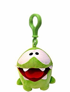 Cut The Rope Backpack Plush Clip On Hungry Om Nom