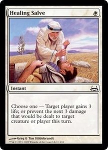 Magic the Gathering Duel Decks: Divine vs. Demonic Single Card Common #14 Healing Salve