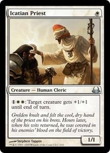 Magic the Gathering Duel Decks: Divine vs. Demonic Single Card Uncommon #2 Icatian Priest