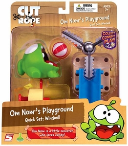 Cut The Rope Playground Quick Set Windmill