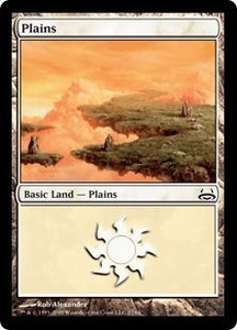 Magic the Gathering Duel Decks: Divine vs. Demonic Single Card Land #26 Plains [Random Artwork]